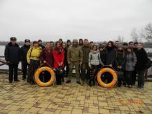 Кременчугские гимназисты теперь знают, как не надо рыбачить
