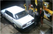 Кременчугская полиция устанавливает личности угонщиков автомобиля