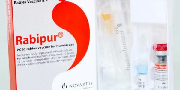 Вакцина для профилактики бешенства поступила в Украину