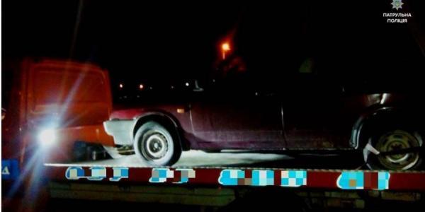 За выходные патрульные Кременчуга задержали восемь водителей «под мухой»