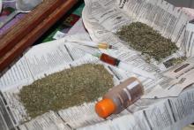 Кременчужанин хранил дома опий и марихуану