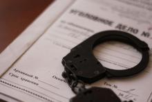 Милиционеры задержали рецидивиста