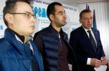Профсоюзы штурмовали мэра Кременчуга