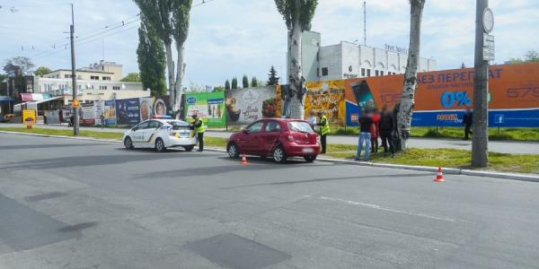 На Первомайской из-за ДТП затруднено движение автомобилей