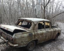 В Комсомольске полиция нашла на дне Псла угнанный автомобиль
