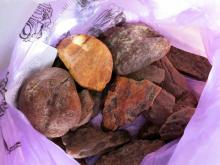 Полтавские таможенники предотвратили контрабанду янтаря
