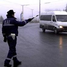 В Кременчуге ГАИ задержан микроавтобус «Ивеко», который разыскивается судисполнителями