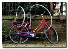В Кременчуге за сутки снова «увели» два велосипеда
