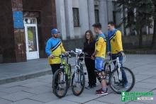 Велоактивисты решили бороться за «место под солнцем» на карте Кременчуга.