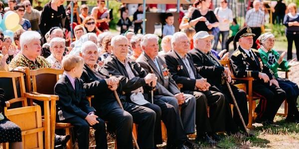 Торжественные мероприятия по случаю Дня Победы на микрорайоне Реевка