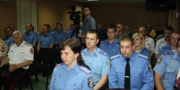 Кременчугские участковые получили поздравления с профессиональным праздником