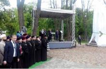 Малецкий и Проценко принимают участие в открытии памятника Мазепы в Полтаве