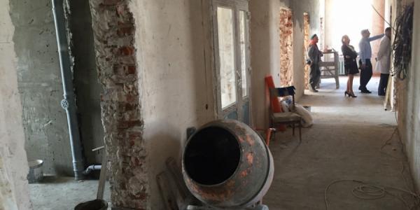 Как строится хоспис, который обещают открыть в Кременчуге уже в этом году