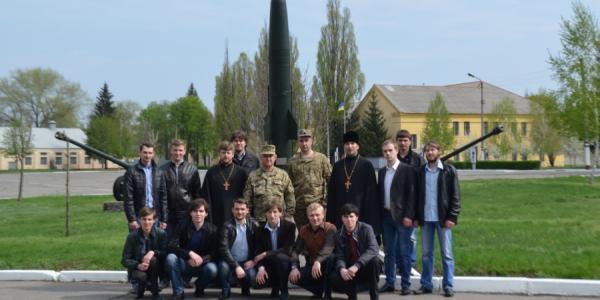 Кременчугские военные принимали интересных гостей