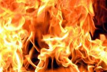 В Кременчуге 5 июня горел мусоропровод и балкон