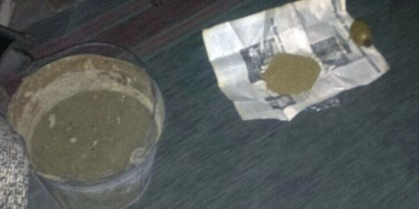 В Кременчуге полицейские изъяли у наркомана ручную гранату