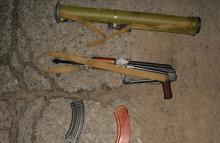 На Полтавщине обнаружили арсенал боевого оружия