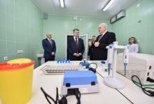 Петр Порошенко посетил в Полтаве противотуберкулезный диспансер