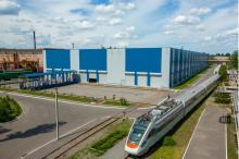 Крюковский скоростной электропоезд «Тарпан» прибыл «на побывку» домой