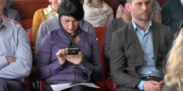 Телефон - друг кременчугского чиновника