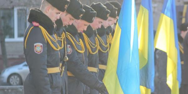 Сегодня в Кременчуге почтили память Героев Небесной Сотни.