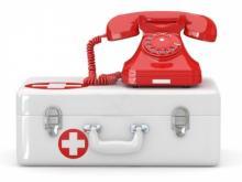 В Кременчуге «расплавились» телефоны «неотложки»
