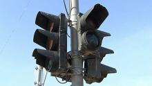 Вниманию водителей: в районе железнодорожного вокзала не работают светофоры