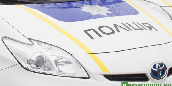 Поврежден еще один полицейский Prius в Кременчуге