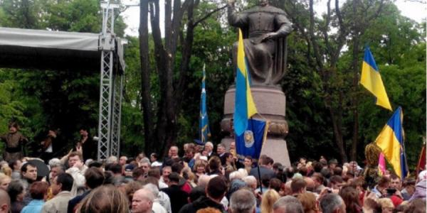 В Полтаве открыт памятник гетману Мазепе