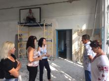 В скандальной школе на Реевке ремонт начали по графику
