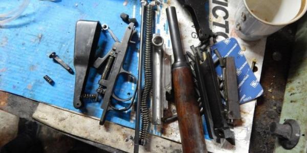 На Полтавщине задержали продавца-изготовителя оружия