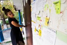 Об отключении комуслуг жителей должны информировать объявлениями на подъездах