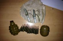 В Кременчуге у бойца АТО изъяты гранаты и патроны