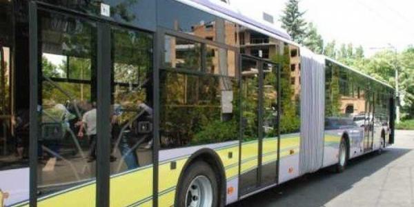 В Кременчуге парализовано движение троллейбусов
