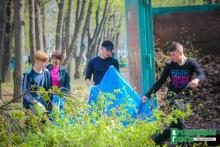 В парке «Крюковский» впервые провели генеральную уборку