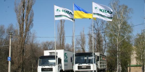 Три четверти продукции КрАЗа в мае ушло на экспорт