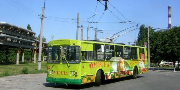 В субботу, 23 июля, троллейбусы не будут доезжать до НПЗ