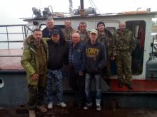 Рыбинспекторы и бойцы АТО спасли днепровых сомов, щук и черепашку