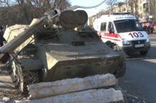 Кременчугские милиционеры забаррикадировались в Константиновке. Дополнено