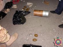 У волонтеров Полтавщины обнаружен оружейный арсенал