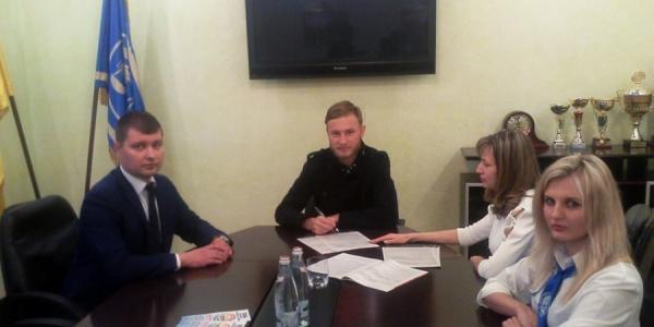Кременчужанин-футболист Роман Безус пришел в налоговую