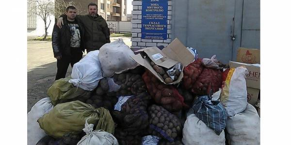 Жители Глобинщины накормят пациентов Кременчугского госпиталя ветеранов войны