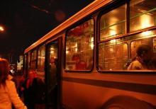 В Пасхальную ночь в Кременчуге поставят маршрутки по 7 грн.