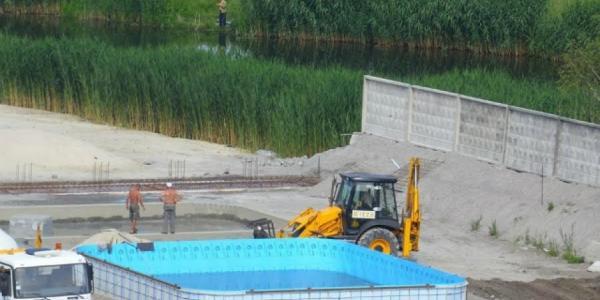 Засыпанное русло речки Сухого Кагамлыка не против расчистить хозяин аквапарка