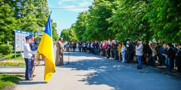 Кременчужане почтили память жертв политических репрессий