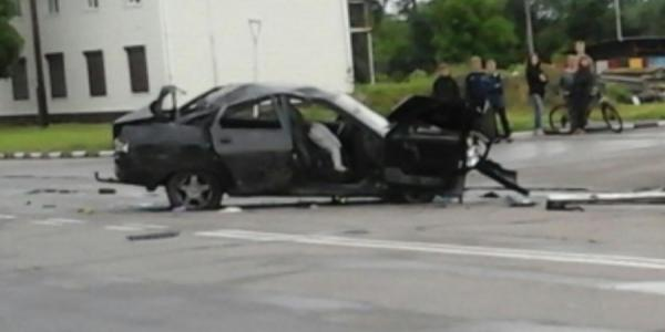 В ДТП в Кременчуге на «понтонниках» погиб пассажир автомобиля