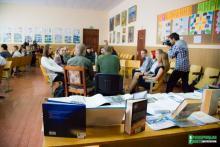 В Кременчуге «читали» людей
