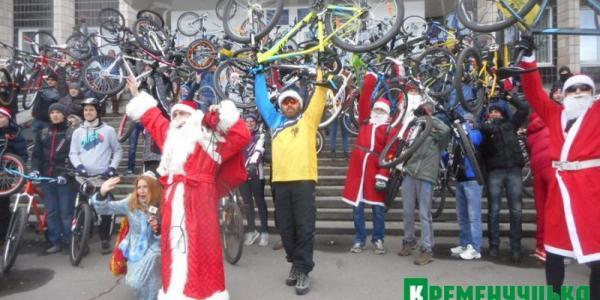 Велосипедизация Дедов Морозов