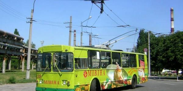 16 и 23 июля троллейбусы временно не будут ездить в районе НПЗ