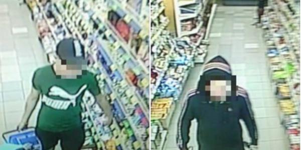 Кременчугские патрульные задержали подозреваемого в краже из супермаркета